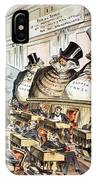 Cartoon: Anti-trust, 1889 IPhone Case