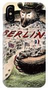 Cartoon: Cold War Berlin IPhone Case