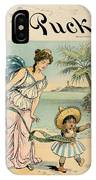 Cartoon: Cuba, 1902 IPhone Case