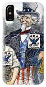 Cartoon: New Deal, 1933 IPhone Case