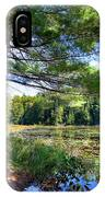 Cary Lake In August IPhone Case