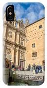 Casa De Las Conchas In Salamanca IPhone Case