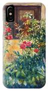 Casale Grande Rose Garden IPhone Case
