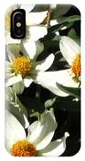 Cascade Of White Flowers IPhone Case