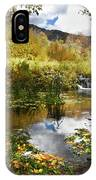 Cascade Springs Large Pool  IPhone Case