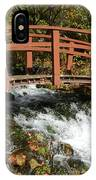 Cascade Springs With Bridge IPhone Case