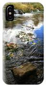 Cascade Springs With Rock IPhone Case