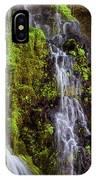 Cascades Of Burney Falls IPhone Case