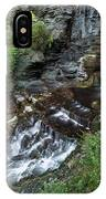 Cascadilla Falls Creek Gorge Trail Giant's Staircase IPhone Case
