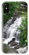 Cascadilla Waterfalls Cornell University Ithaca New York 03 IPhone Case