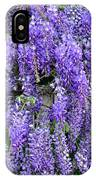 Cascading Wisteria 2 IPhone Case