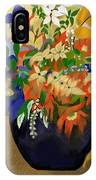 Vase Of Flowers IPhone Case