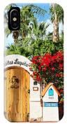 Casitas Laquita Palm Springs IPhone Case