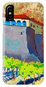 Castello Di Villafranca IPhone Case