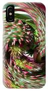 Caster Bean Abstract IPhone Case