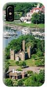 Castle At Glen Island IPhone Case
