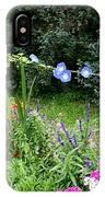 Castle Garden In Germany IPhone Case