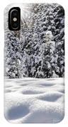 Castle Peak Winterland  IPhone Case