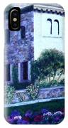 Castle Sestri Levante IPhone Case