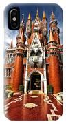 Castle Taman Mini Indonesia Indah  IPhone Case