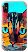 Cat 10 IPhone Case