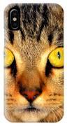 Cat Face Portraiture IPhone Case