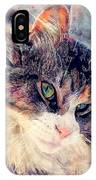 Cat Jasper IPhone Case