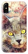 Cat Kiara IPhone Case