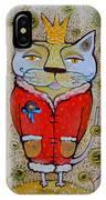Cat-king IPhone Case