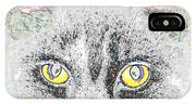 Cat Love Yellow Work IPhone Case