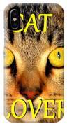 Cat Lover Spca IPhone Case