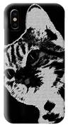 Cat On A Hot Tin Roof IPhone Case