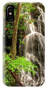 Cataract Falls In Great Smoky Mountains National Park IPhone Case