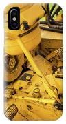 Caterpillar D2 Bulldozer 07 IPhone Case