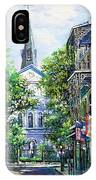 Cathedral At Orleans IPhone Case