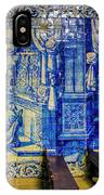 Cathedral Azulejos IPhone Case