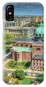 Cathedral Basilica Of Saints Peter And Paul Philadelphia  IPhone Case