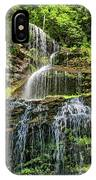 Cathedral Falls 4 - Paint IPhone Case