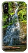Cathedral Falls - Paint IPhone Case