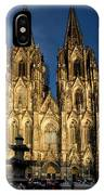 Cathedral In Cologne  IPhone Case