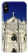 Cathedral In El Salvador IPhone Case