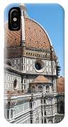 Cathedral Of Florence IPhone Case