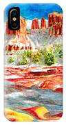 Cathedral Rock Crossing IPhone Case