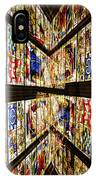 Cathedral Window Montage IPhone Case