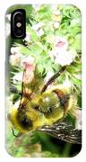 Catnip And The Bee IPhone Case