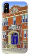 Catonsville Elementary School IPhone Case
