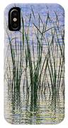 Cattails In The Lake IPhone Case