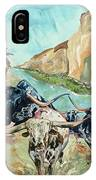 Cattle Drive IPhone Case