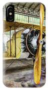 Caudron G3 Propeller And Cockpit - Vintage IPhone Case