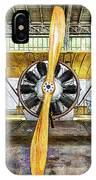 Caudron G3 Propeller - Vintage IPhone Case